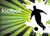 Football sign — Stock Vector