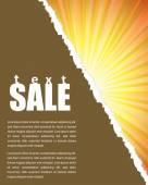 Nákupní plakát — Stock vektor