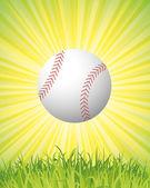 Cartel de béisbol — Vector de stock