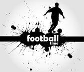 Fußball-Zeichen — Stockvektor