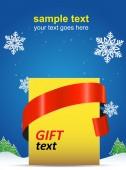 Christmas holiday poster — Stockvektor