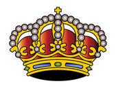 Crown illustration — Stock Vector