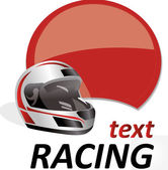 Racing sign — Stock Vector
