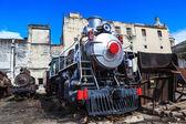 Shiny steam engine — Stock Photo