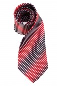 Red and blue necktie — Stock Photo