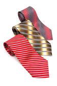 Three tabby necktie — Stock Photo