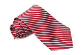 Burgundy tie — Stock Photo