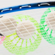 Colorful shuttlecocks for badminton — Stock Photo #69192545