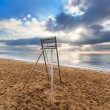 Lifeguard metal chair — Stock Photo #69192763