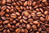 Close-up de grãos de café — Fotografia Stock