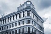 House with windows in Havana — Stock Photo