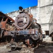 Old steam locomotives — Stock Photo #70574039