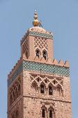 Koutoubia Mosque in Marrakesh — Stock Photo