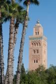 Meczet kutubijja w marrakeszu — Zdjęcie stockowe