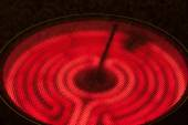 Ceramic Stove Top — Stock Photo