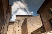 Architecture of Bagnoregio — Fotografia Stock