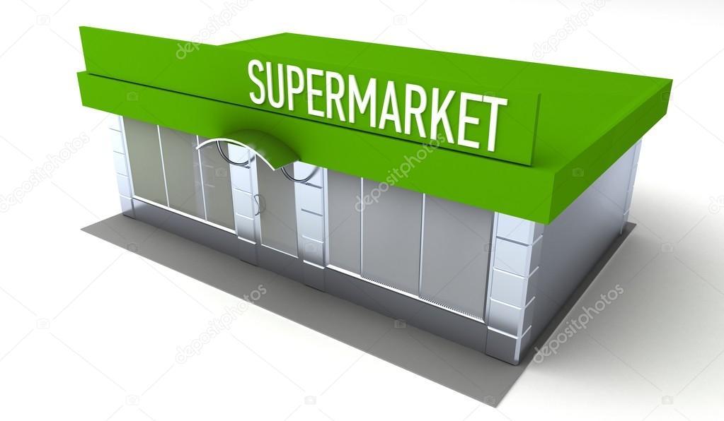 Illustration du magasin ou supermarch kiosque ext rieur for Kiosque exterieur