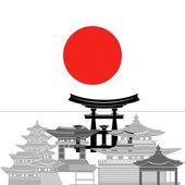 Japón — Vector de stock