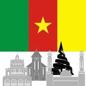 Cameroon — Stock Vector