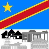 Congo-1 — Stock Vector