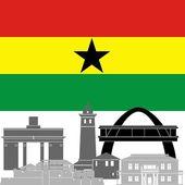 Ghana — Stock Vector