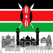 Kenya — Stock Vector