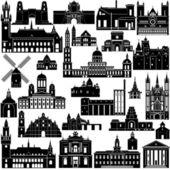 Architecture-12 — Stock Vector