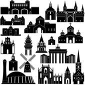 Architecture-13 — Stock Vector