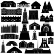 Architecture Africa-1 — Stock Vector #63440725