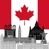 Canada — Stock Vector
