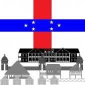 Netherlands Antilles — Stock Vector