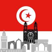 Tunisia — Stock Vector