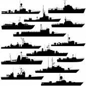 Patrol boat — Stock Vector