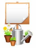 Garden equipment. — Stock Vector