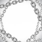 Background with chains. — Vettoriale Stock