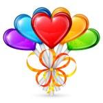 Heart Lollipops — Stock Vector #60327477