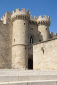 Castle of Rhodes — Stock Photo