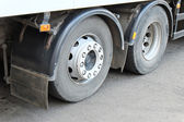 Wheels of a truck — Stock Photo