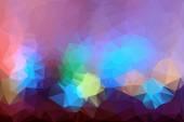 Retro mönster av geometriska former. färgglad mosaik banner. geometriska hipster retro bakgrund med plats för din text. retro triangel bakgrund — Stockvektor