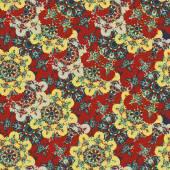 Mandali bezszwowe tło. Starodawny element dekoracyjny. Ręcznie rysowane tapeta. — Wektor stockowy