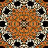 Oriental ornate seamless pattern. Ethnic endless background. Vector illustration. — Stock Vector