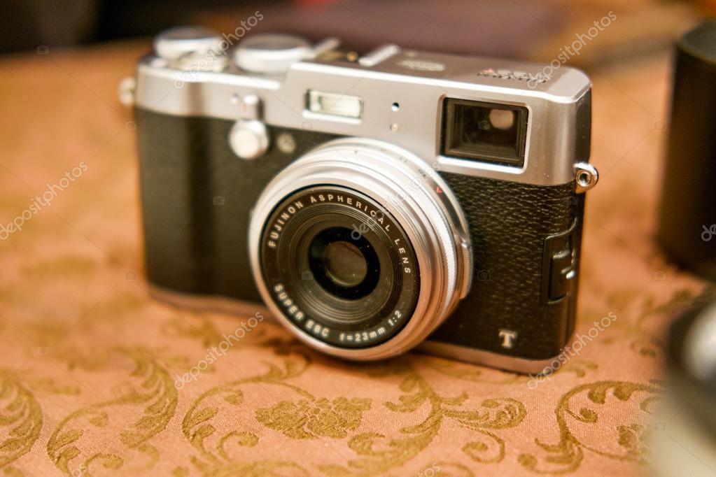 Astrakhan, Russia - Dec. 07, 2015: Fujifilm X100 Mirrorless ...