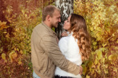 Autumn love story — Fotografia Stock