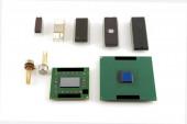 Starý mikročip — Stock fotografie