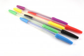 Collection of ball-point pen — Stock Photo