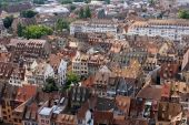 View of Strasbourg, Alsace, France — Stock Photo