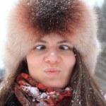 Winter portrait — Stock Photo #53936285