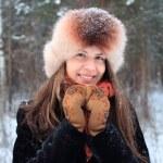 Winter portrait — Stock Photo #53936303