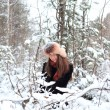 In the winter forest — Stock Photo #53937961