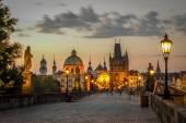 Prague ,Charles bridge  — Stock Photo